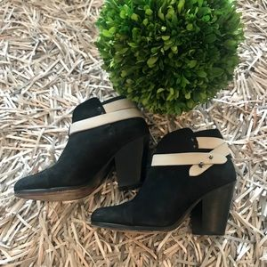 🐘Rag and Bone suede booties size 38